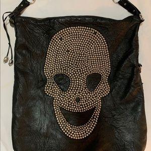 Thomas Wylde Skull Bag Leather Studded Hand Bag